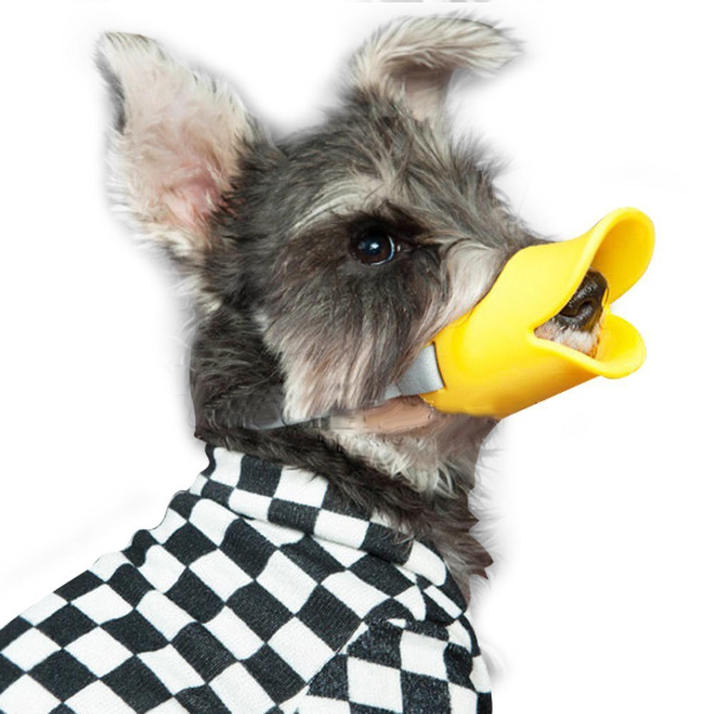 ... leegoal penutup mulut anjing untuk anti gigitan mulut masker moncong bebek pola silikon, Medium Size ...