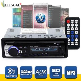 Harga leegoalWireless Bluetooth Car Audio Stereo In-Dash Car MP3 Player Support Aux Input TF Card USB