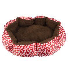 Lembut bulu anjing peliharaan anak kucing rumah mewah tempat tidur hangat dan nyaman Pad sarang tikar
