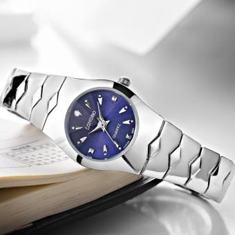 LONGBO Fashion Couple Alloy Band Sport Business Quartz Round Watch  Wristwatches 9201 - intl 596331ece4