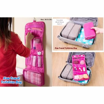 Lucky Travel Mate 2 Organizer Toiletry Bag Tas Kosmetik Toilet Ukuran Besar