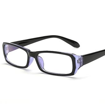 Jual Lucu perempuan kacamata besar cermin polos gelas radiasi Online ... 341212a3cc