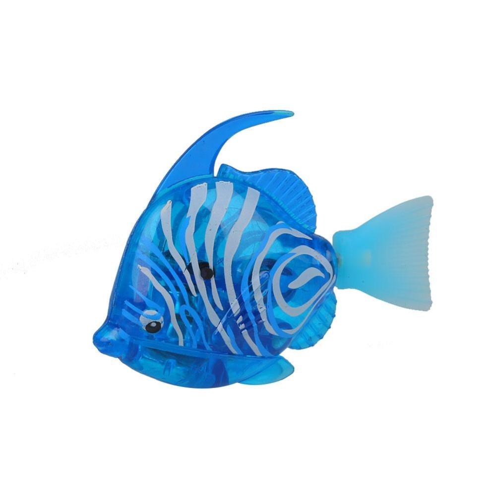 Luminous Electron Fish Power-Driven Ornamental Fish FishbowlDecoration Colorful - intl