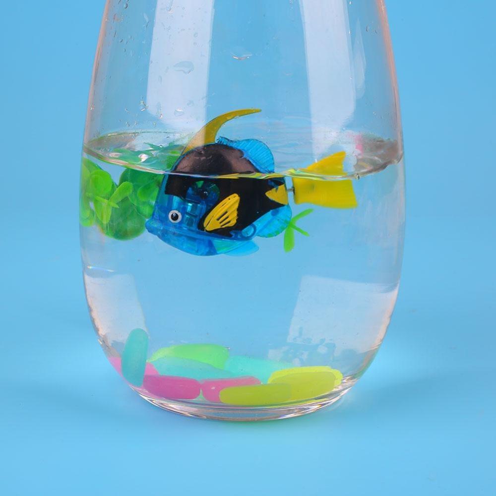 Luminous Electron Fish Robots Swimming Power-Driven FishbowlDecoration - intl