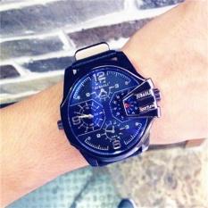 Luxury men and women outdoor sports fashion leather watch quartz watch(Colour-1)