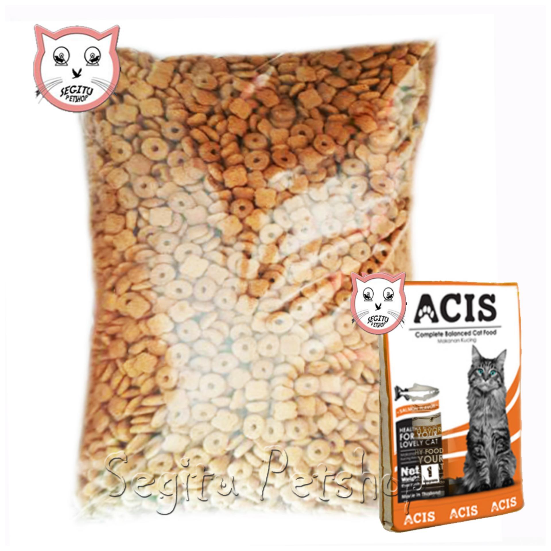 Makanan Kucing Acis Salmon Cat Food Repack 500 Gram