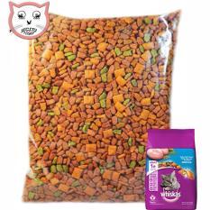 MAKANAN KUCING WISKAS CAT FOOD WHISKAS REPACK 1 KG