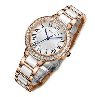 Home · Fashion · Jam Tangan · Jam Tangan Wanita. MAMONA Women's Quartz Watch Crystal