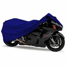Mantroll Cover Motor Khusus Yamaha YZF R 15 - Biru Metalic