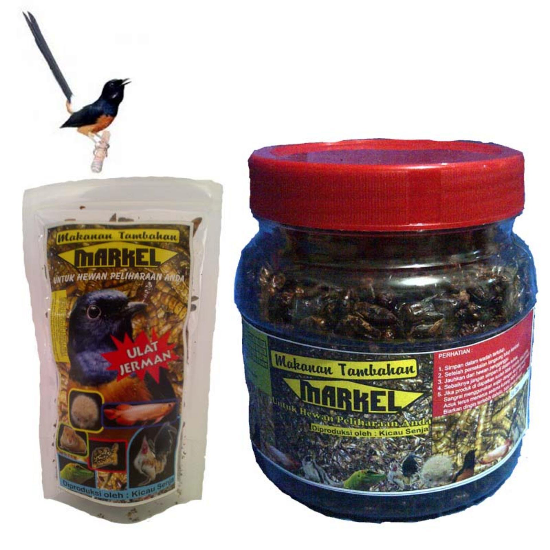 Markel Paket Serangga Kering Untuk Burung Murai Batu - Paket 2..