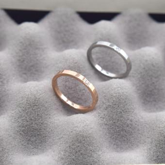 harga Masuknya Orang 18K Sederhana Perempuan Titanium Baja Naik Cincin Ekor Emas Berlian Cincin Lazada.co.id