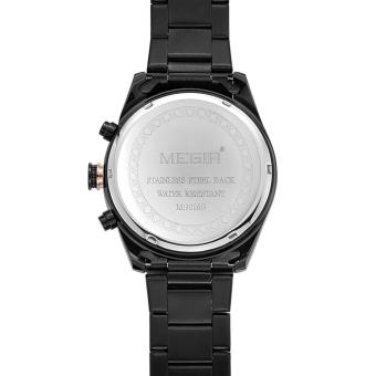 MEGIR 3016 Male jam kuarsa Chronograph 24 jam tampilan bercahaya tanggal jam tangan - International - 5