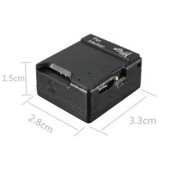 Mini GPS Pelacak Mobil Alat Pelacak Kendaraan Mobil/Sepeda MotorWaktu Nyata GPS/GSM GPRS