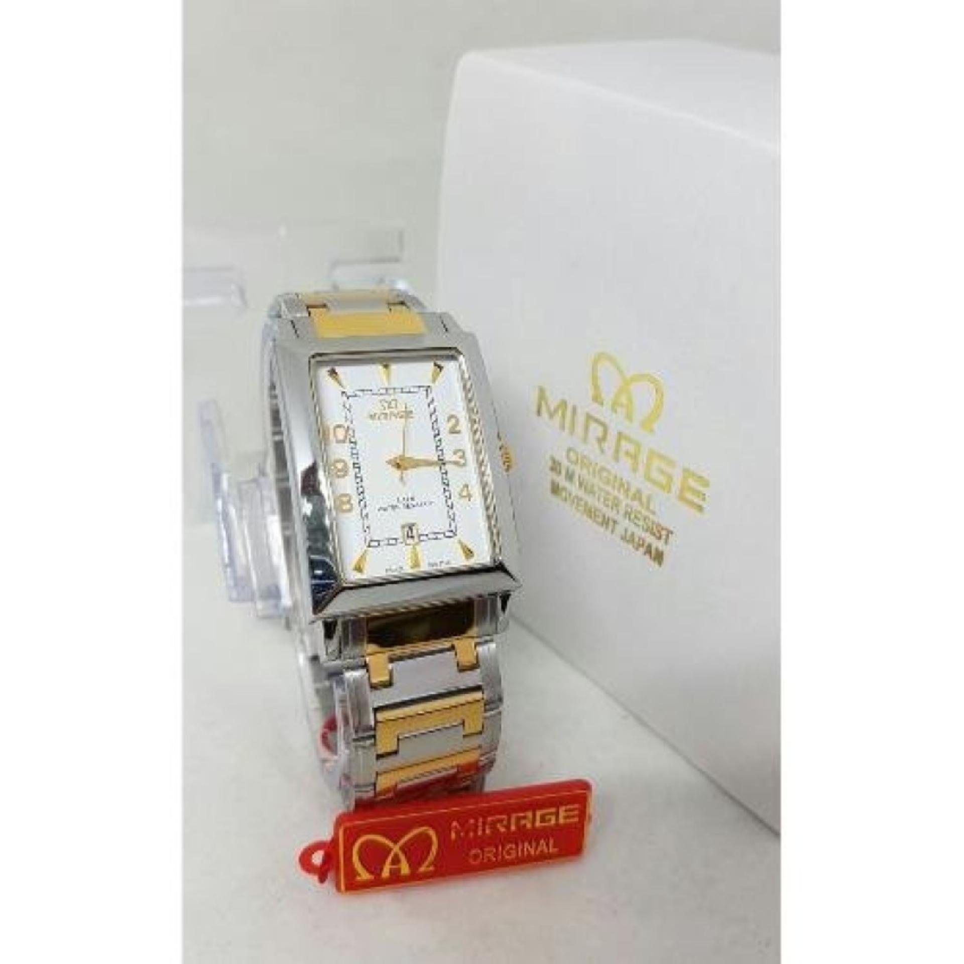 ... Mirage - Jam Tangan Wanita Original - strap Stainless DS ...