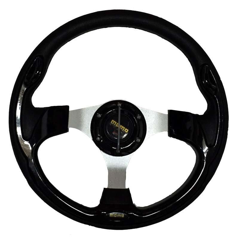 """Momo Setir Mobil Modifikasi MOMO Racing 13"""" 56 - Hitam"""
