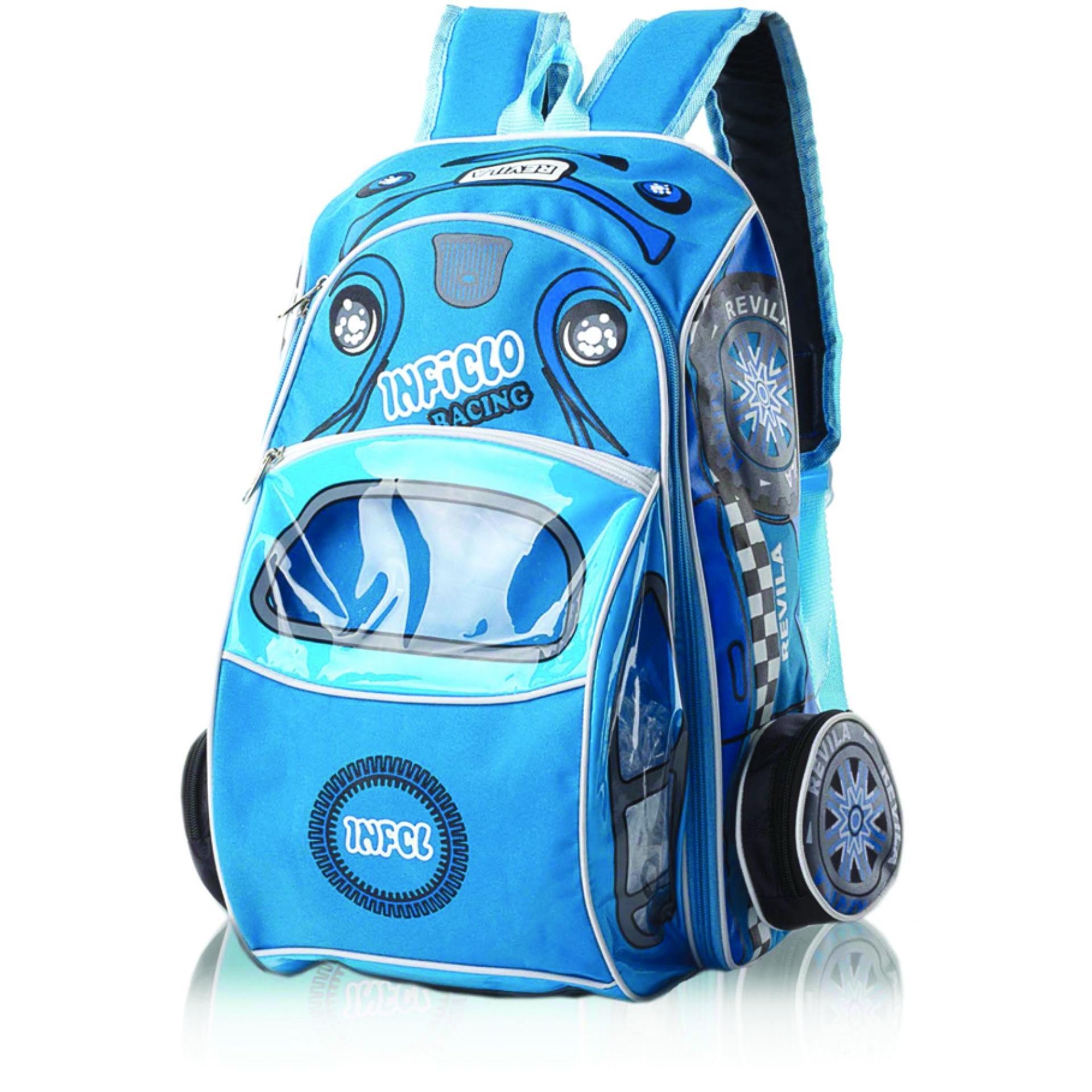 ... Montaza Kids Tas Ransel Mobil Sekolah Anak Laki & Perempuan Karakter Lucu SCP727