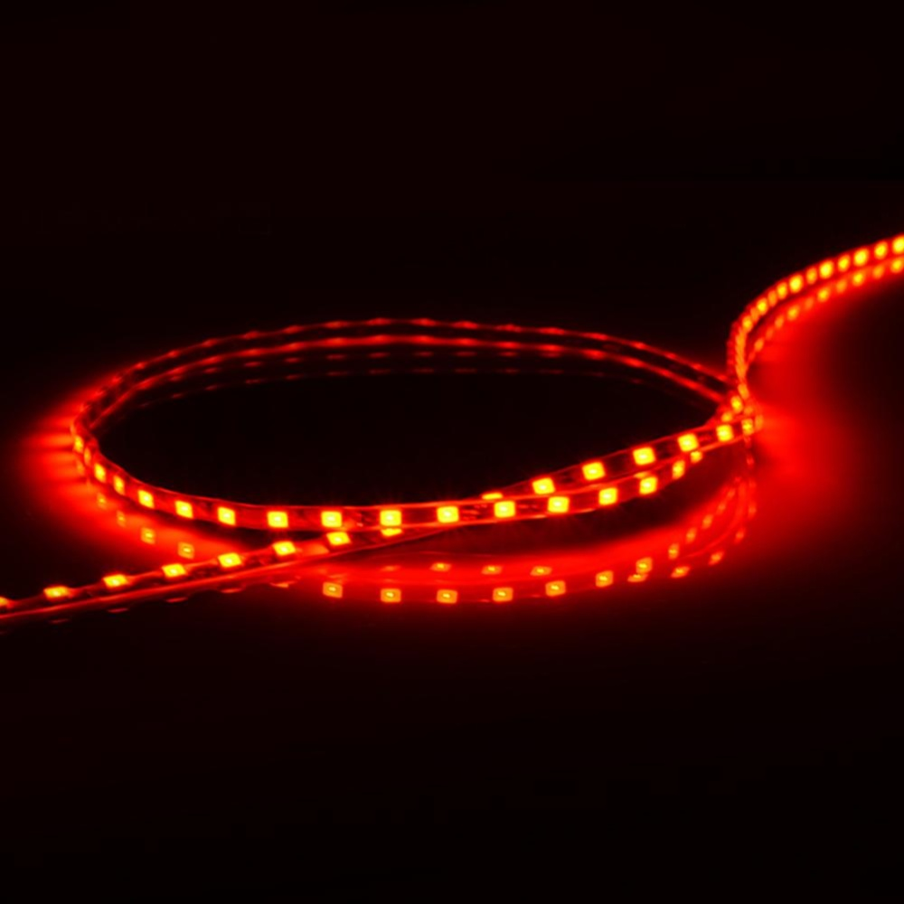 ... Moonar 90CM New Style Colorized Long Car Chassis Tire LED Decoration Light Bar Red light
