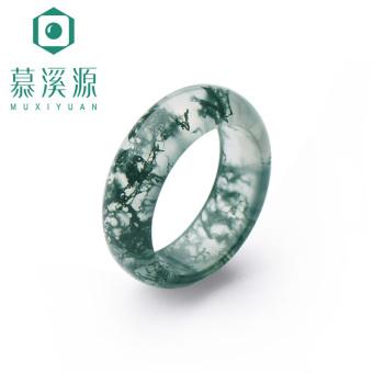 Muxiyuan tumbuhan alami batu akik cincin