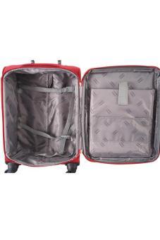 ... Navy Club Tas Koper Kabin Softcase - Cabin 4 Roda 3793-18 inch - Merah