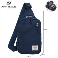 Navy Club Tas Selempang Travel - Tas Punggung Tahan Air - Sling Bag 5032 - Biru Tua