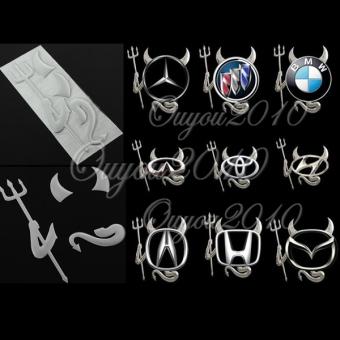 Belanja Terbaik New 3D model setan stiker mobil lambang Logo kertas - International Harga Penawaran