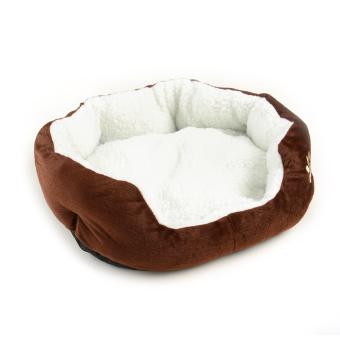 Detail Gambar New anjing peliharaan anak kandang kucing bulu lembut tempat tidur hangat dan nyaman mewah