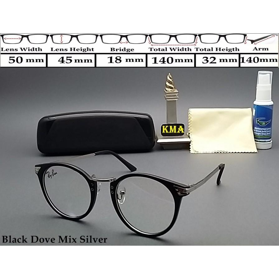 Flash Sale New Frame Kacamata Lensa Minus Rayba  Vintage Kacamata Bulat  Classic Murah ce72eeee86