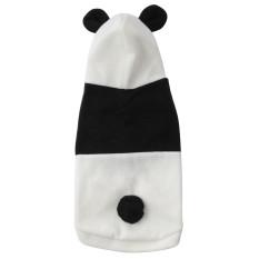 new Y429XLCute bulu domba panda lebih tahan dr pakaian kostum bajumantel hangat untuk kucing dan anjing