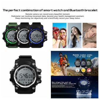 niceEshop Rugged Sport Smart Watch, IP-68 Waterproof Bluetooth Sport Smartwatch With Android And