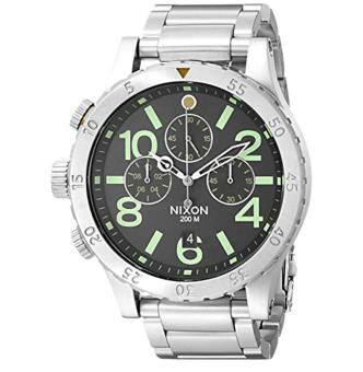 Nixon Men's A4861956 48-20 Pacific Station Chrono Watch - intl