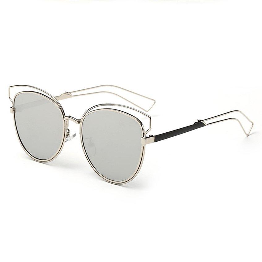 ... Oh Eyewear Retro Vintage Fashion Wanita Warna Bingkai Kacamata Hitam Mata Kucing Baru ...