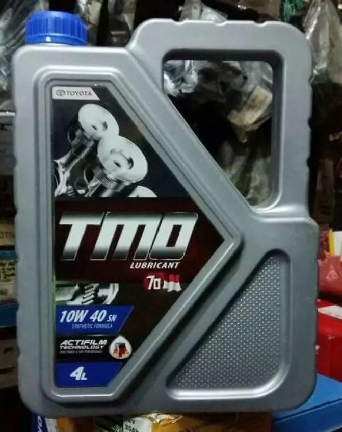 OLI MESIN MOBIL TOYOTA MOTOR OIL TMO 10W 40 4LITER OMTMO10W404L