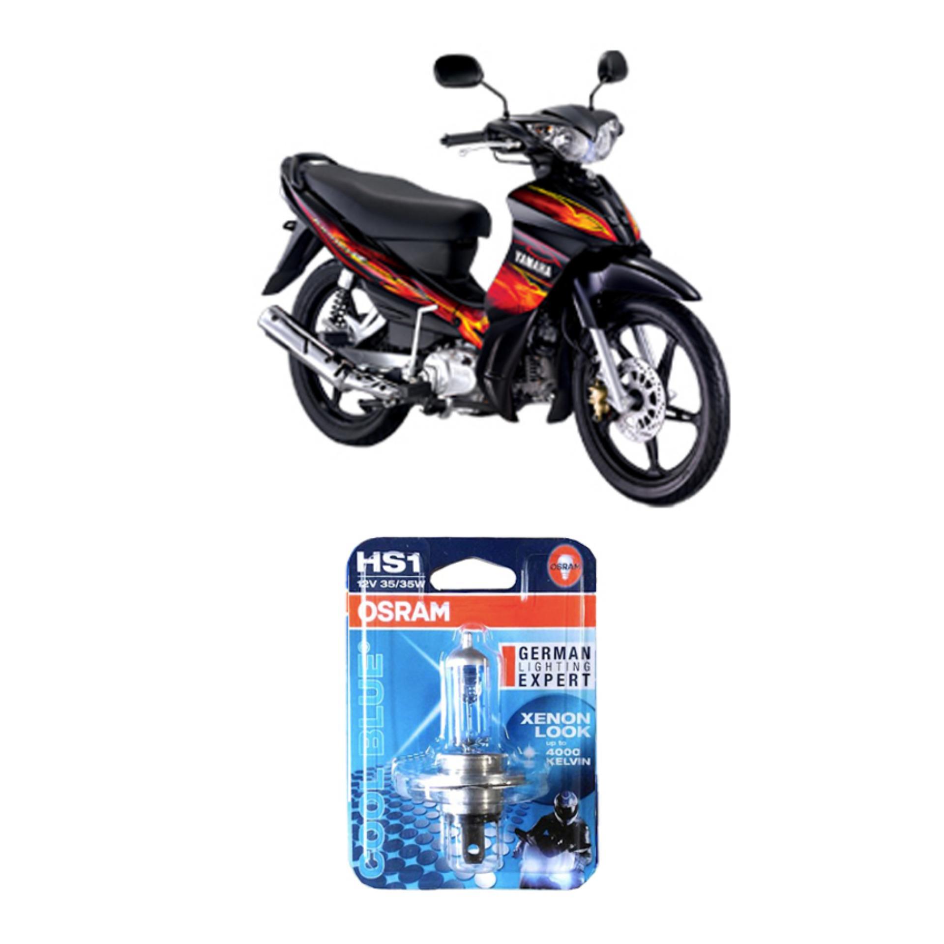 Flash Sale Osram Lampu Depan Motor Yamaha Jupiter Z - 62337CB - 1 Pcs
