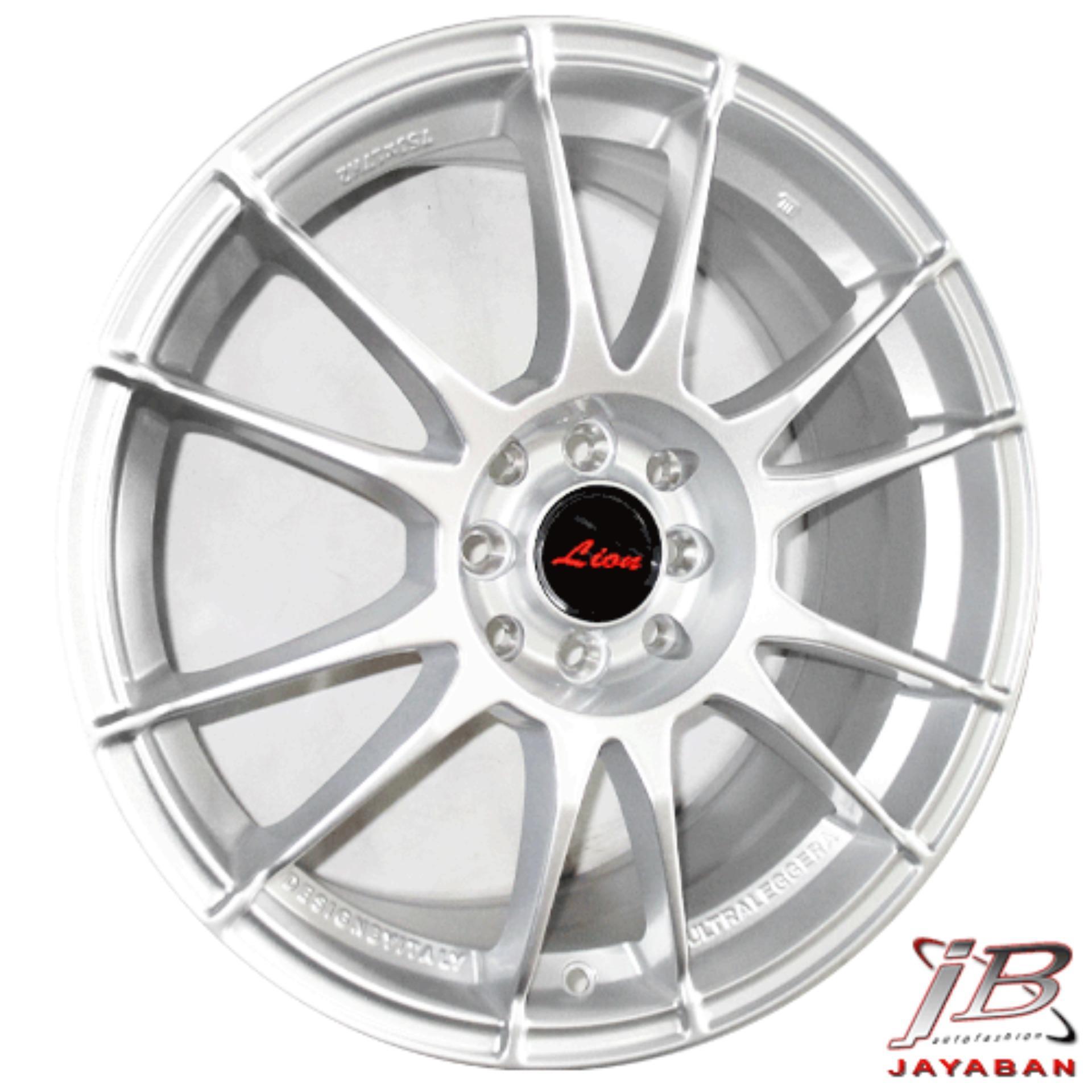 Paket Cicilan 4 Velg Racing 16 Inch + 4 Ban 195/45 R16 Achilles - GRATIS INSTALASI / Kirim JABODETABEK