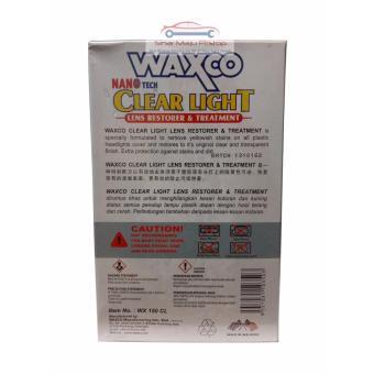 Pengkilap / Pelindung / Penghilang Noda Kuning Kaca Lampu Mobil - WAXCO LENS RESTORER & Treatment UV Protector - 2
