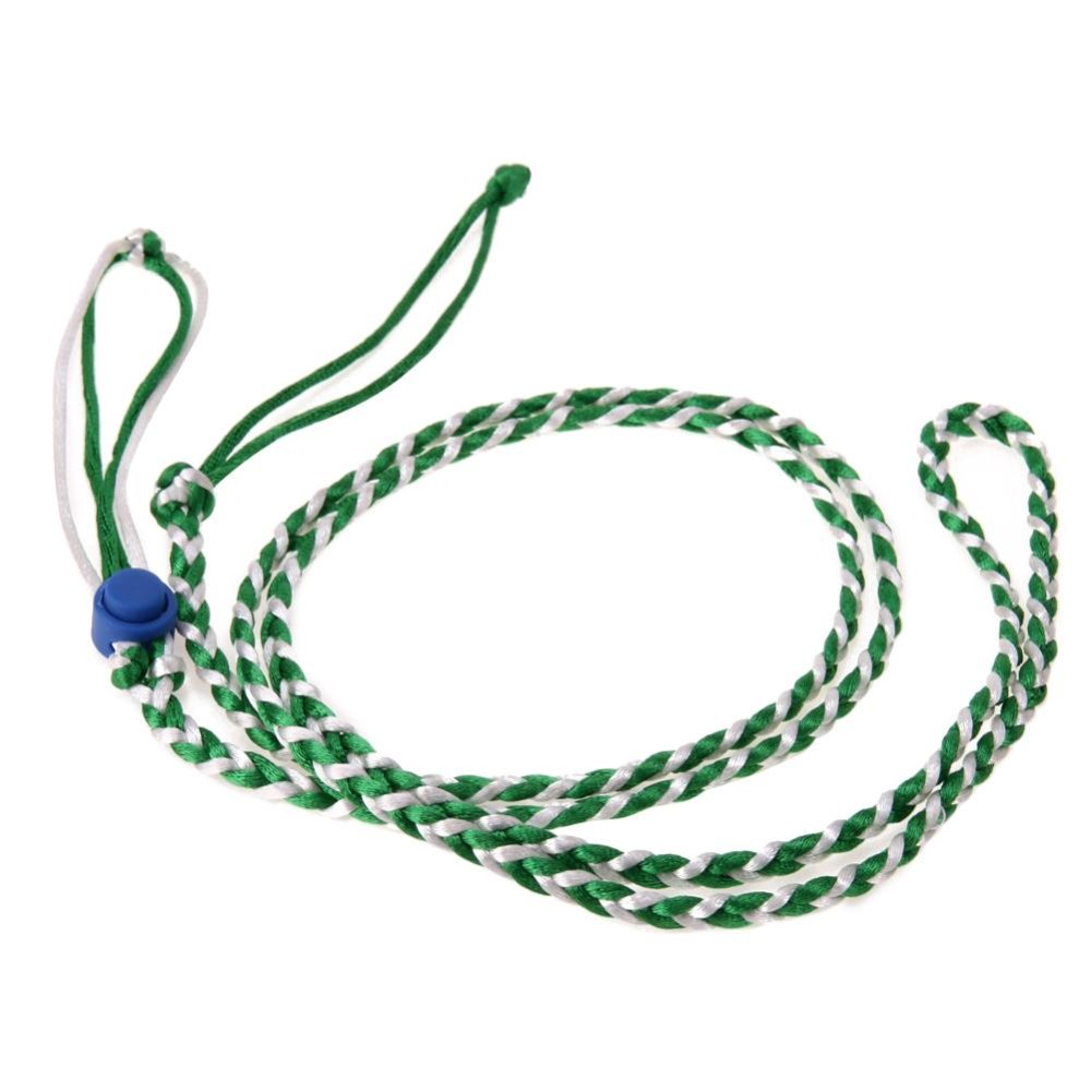 Pet Hamster Cage Leash Adjustable Pet Rat Mouse Harness RopeLeash(Green) - intl