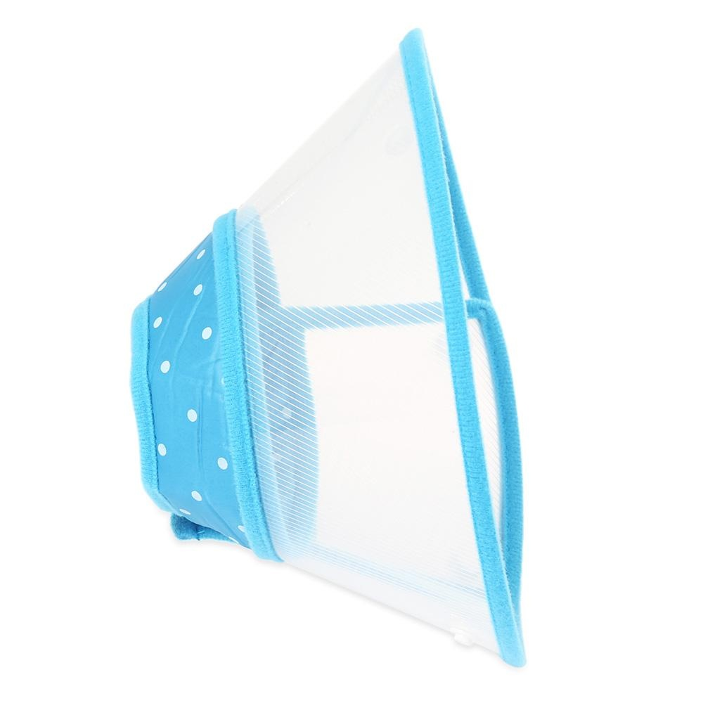 Pet Recovery Cone Elizabethan Collar with Breathable Soft Edge -intl