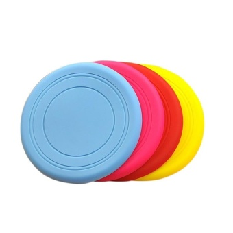 ... Pet Toys Silicone Frisbee - intl - 3 ...