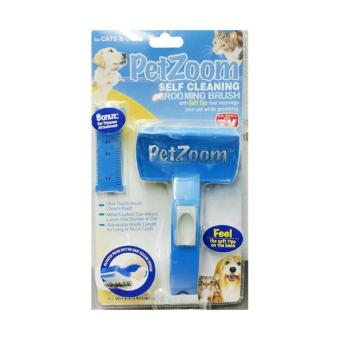 PetZoom - Self-Cleaning Brush For Dogs And Cats - Sisir Kucing dan Anjing