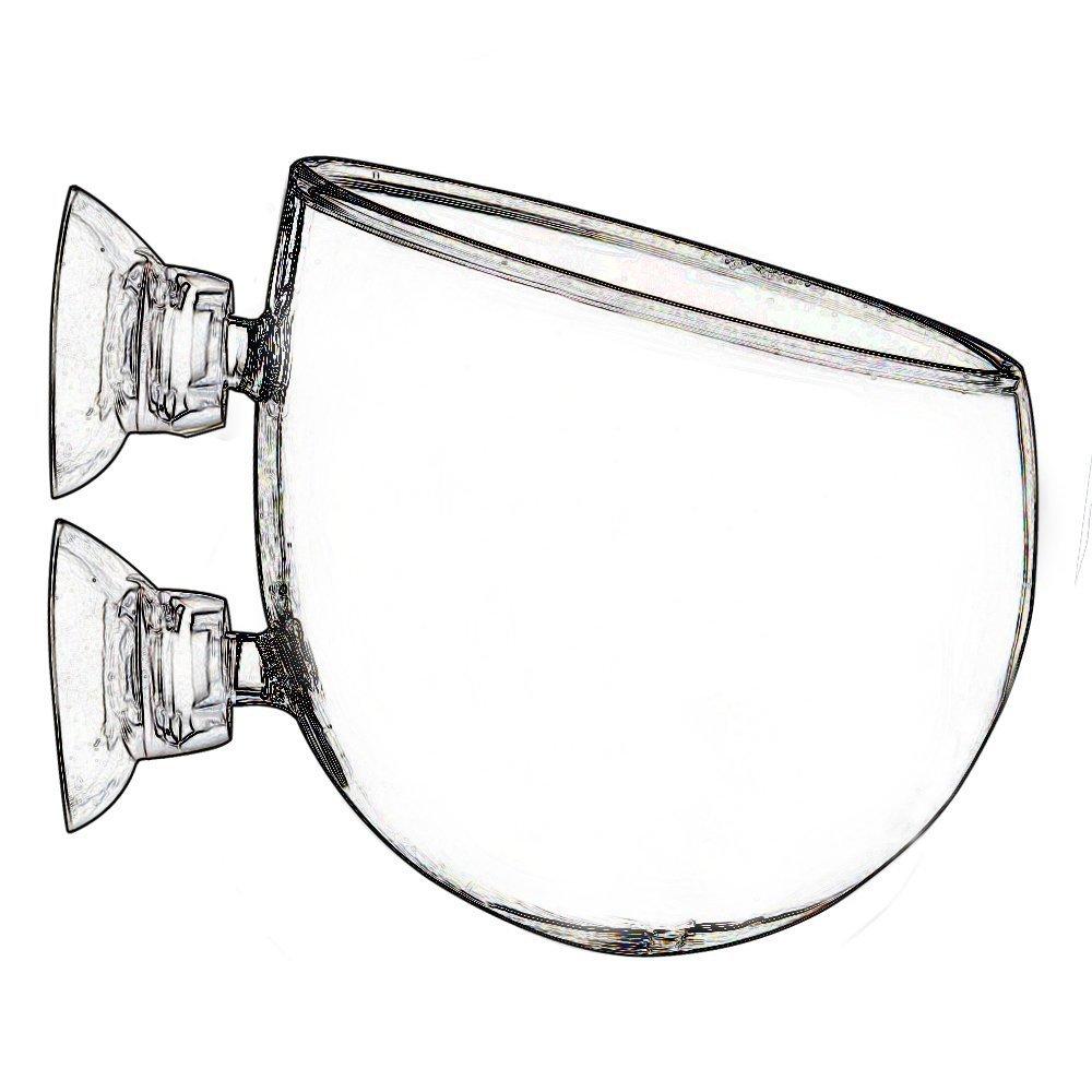 Plant Glass Pot Cup for Aquarium Tank Aquascape - intl