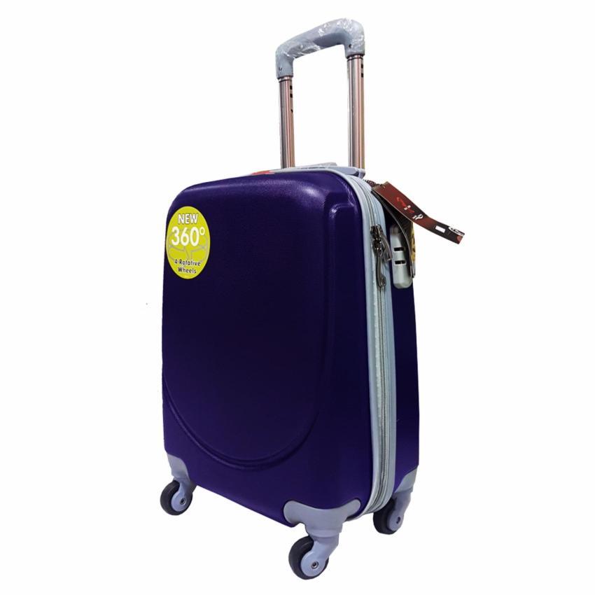 Polo Hoby Koper Hardcase Luggage 18 Inchi 705 Blue Waterproof .