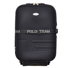 Polo Team 933 Koper Kabin Size 18 inch - Hitam - Gratis Pengiriman JABODETABEK