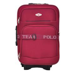 Polo Team Tas Koper Kabin 091 - 20 inch Gratis Pengiriman JABODETABEK - Merah