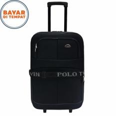 Polo Twin Koper Bahan Ukuran 24 Inchi 1301-24 Expandable Import - Black