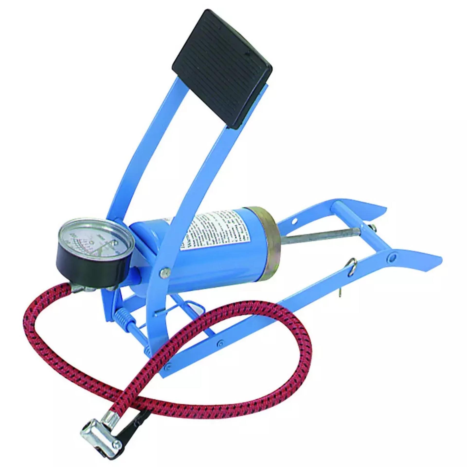 Universal Pompa Angin Manual Kaki Injak Mobil Sepeda Motor Daftar Foot Pump Darurat Ban Kolam Mainan Untuk Dll