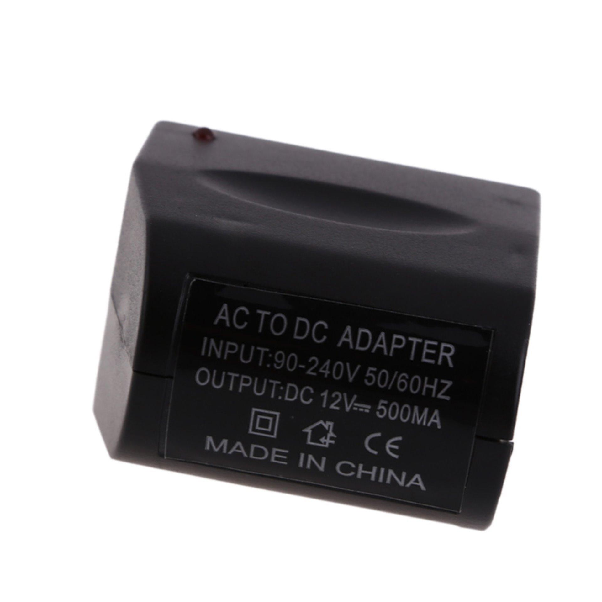 Power Adapter Car Lighter Socket 110v 220v Ac 12v Dc Hitam Spec Converter 90240v To 9v 500ma Led Switching Supply