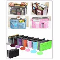 Prime Korean Dual Bag In Bag Organizer Tas Dalam Tas Korea - Random Color