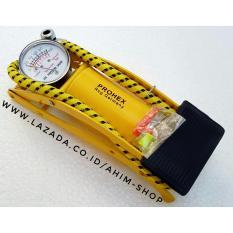 PROHEX Foot Pump Manual Multifungsi Pompa Angin Tabung Kaki Injak Darurat (Ban Sepeda, Motor, Mobil, Balon, Bola dll)
