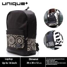 promo uNiQue Tas Ransel Laptop - Tas punggung - Tas Laptop Korean Batik original