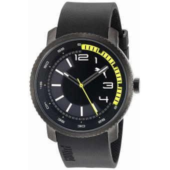 PUMA PU103291001 - Motorsport Collection - Jam Tangan Pria - Bahan Tali Rubber - Hitam